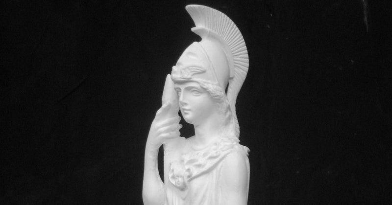A-371 アテナ神全身像(アテナ・プロマコス)|石膏像ドットコム(脇本 ...