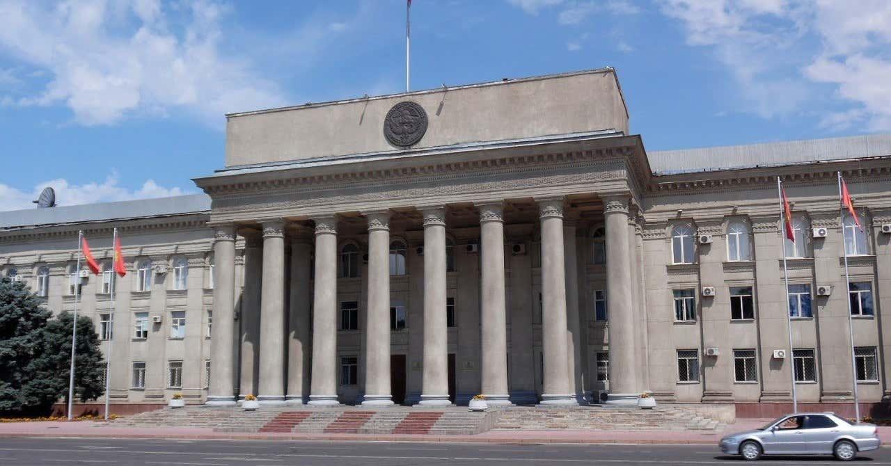 キルギス政府庁舎