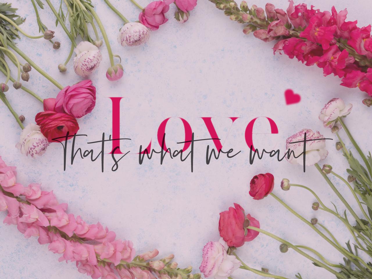 New 春デザインpc壁紙 Love デザインしました リトマム Little Mom Note