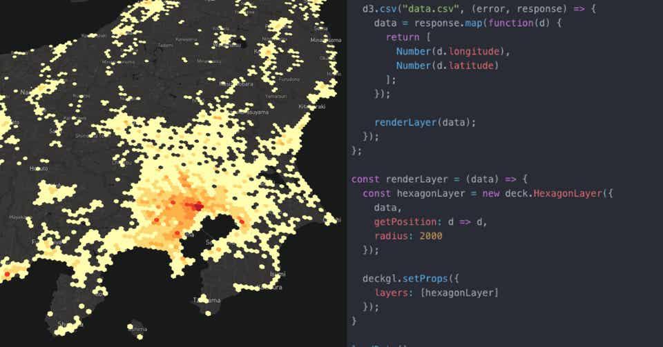 JavaScriptフレームワークを使わずDeck GLを動かす最小限の