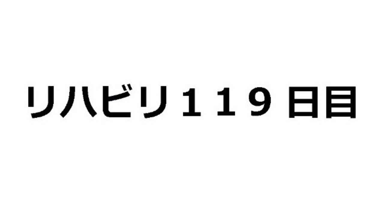 119日目
