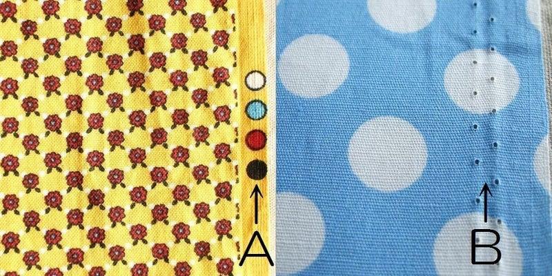 方 見分け 生地 表裏 布の表と裏の見分け方を教えてください。耳に穴が針穴があるものは