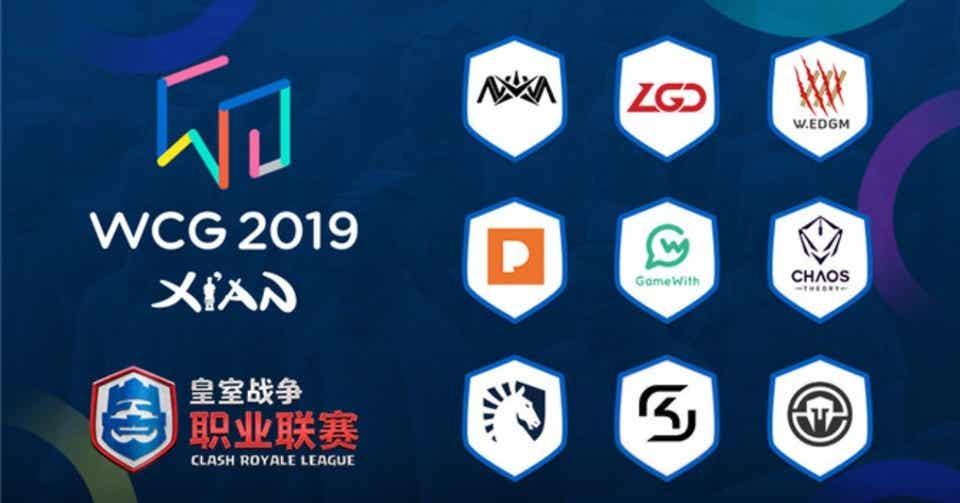 クラロワリーグ   CRL   2019-S1   WCG - CRL Invitational