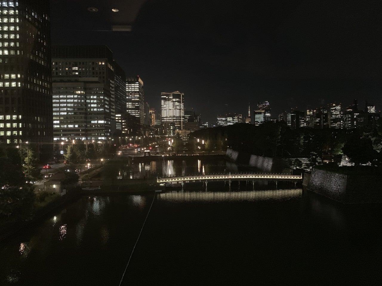 執務室からの定点観測_夜_