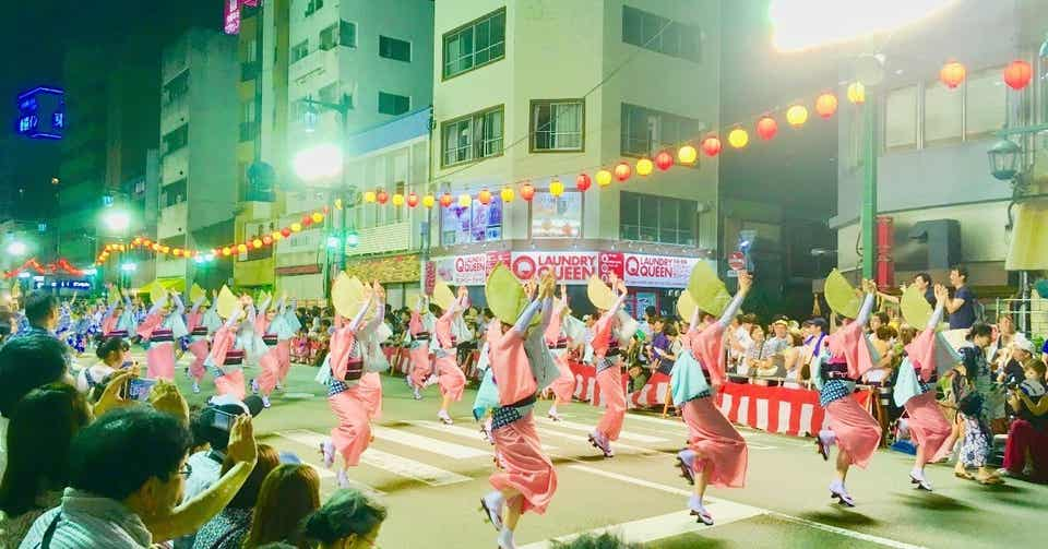 徳島市阿波踊り2019|宮沢ちひろ|note