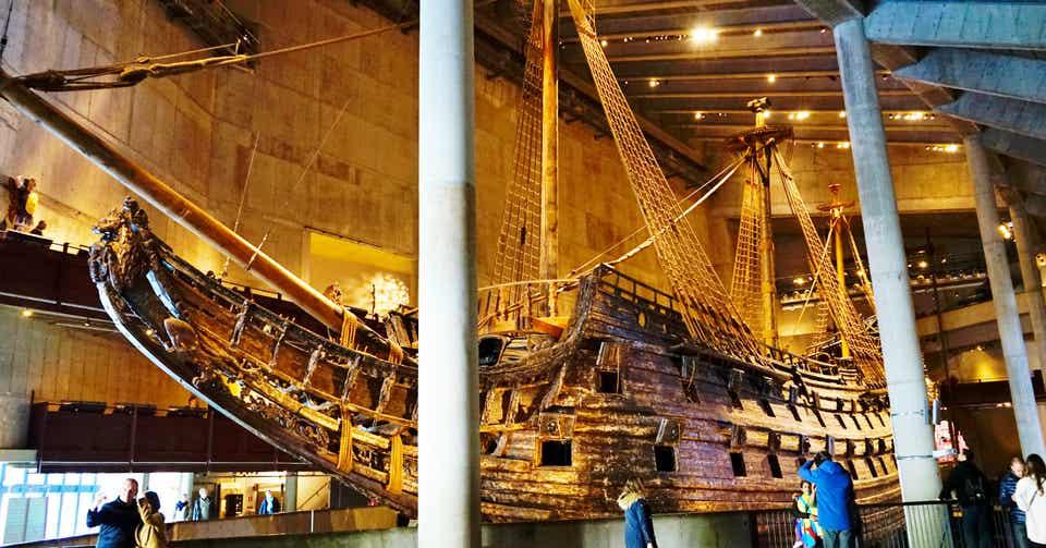 17世紀の大戦艦を丸ごと展示 ヴァーサ号博物館 【スウェーデン】 Shun ...