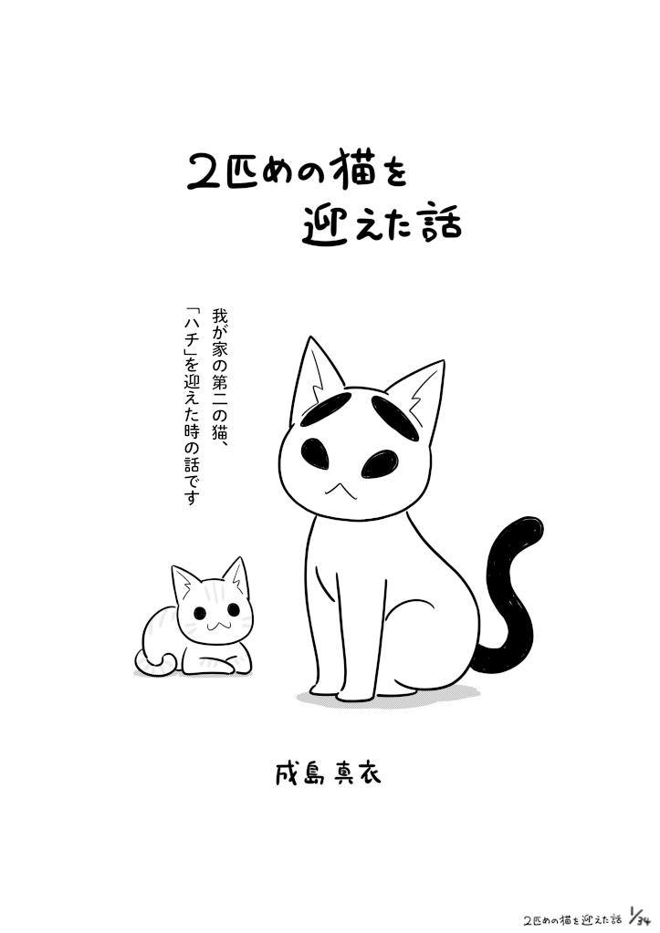 二匹目の猫を迎えた話_001