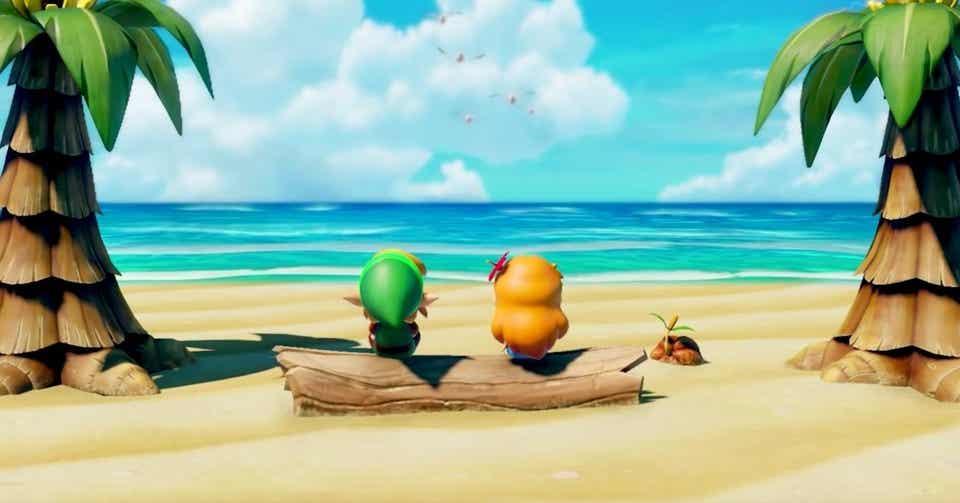 ゼルダ の 伝説 夢 を 見る 島