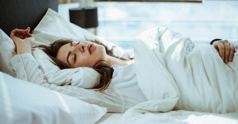 方法 寝る 仰向け で