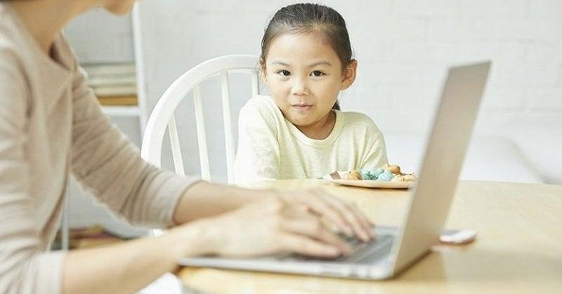 育児中の作業