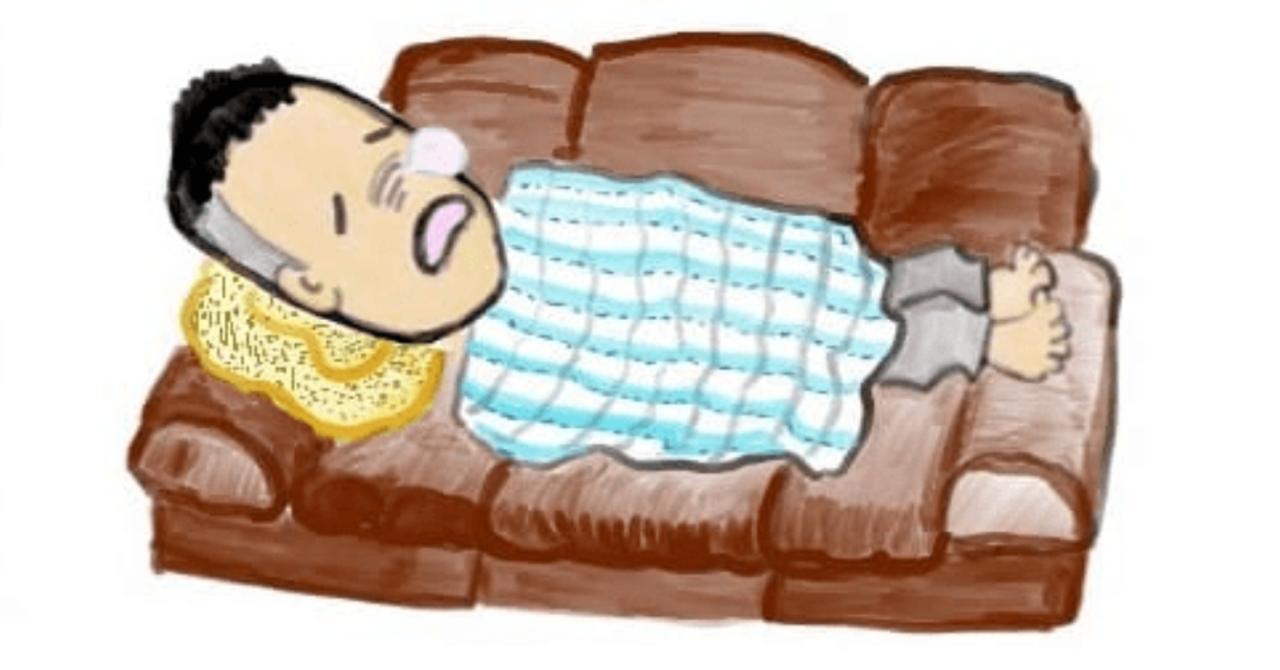 糖尿病の初期症状や癌の進行に苦しみ寝たきりの生活