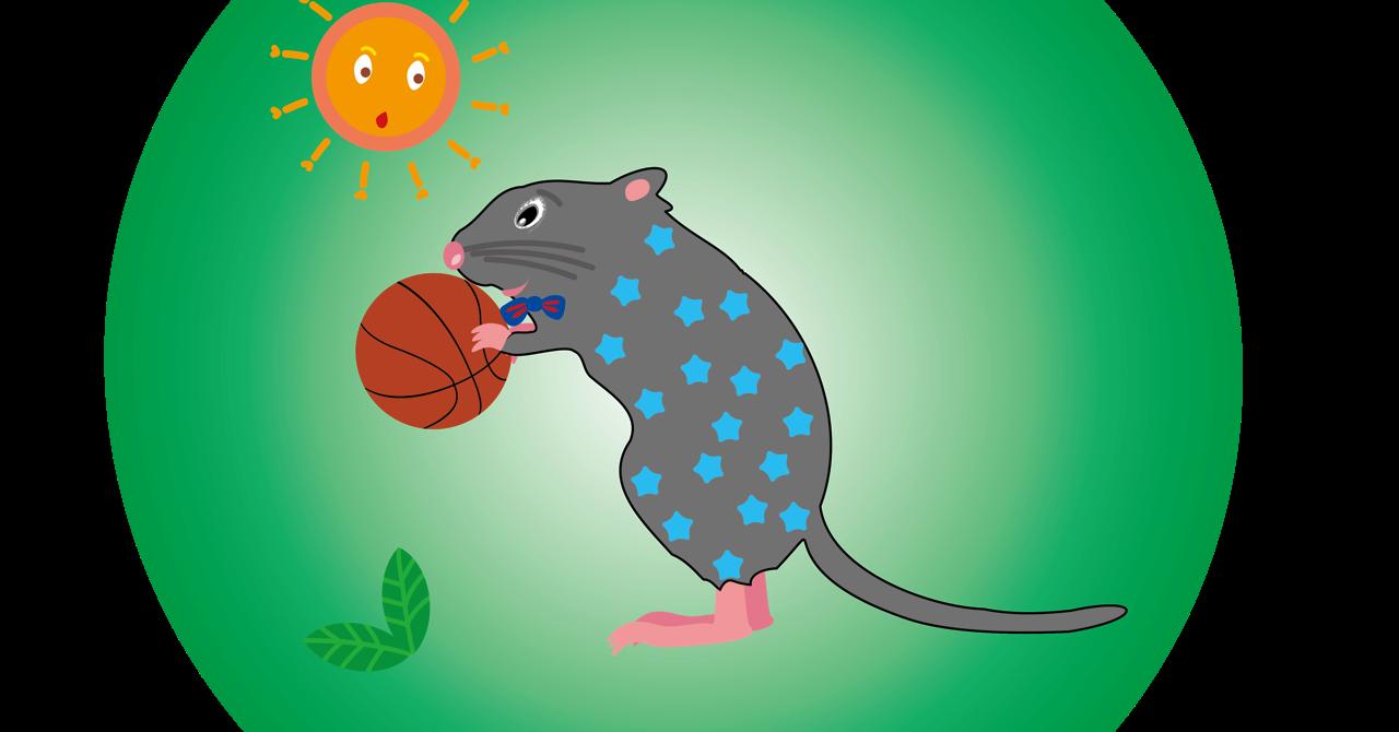 ネズミのキャラクターのイラストPNG|子年のネズミのイラスト