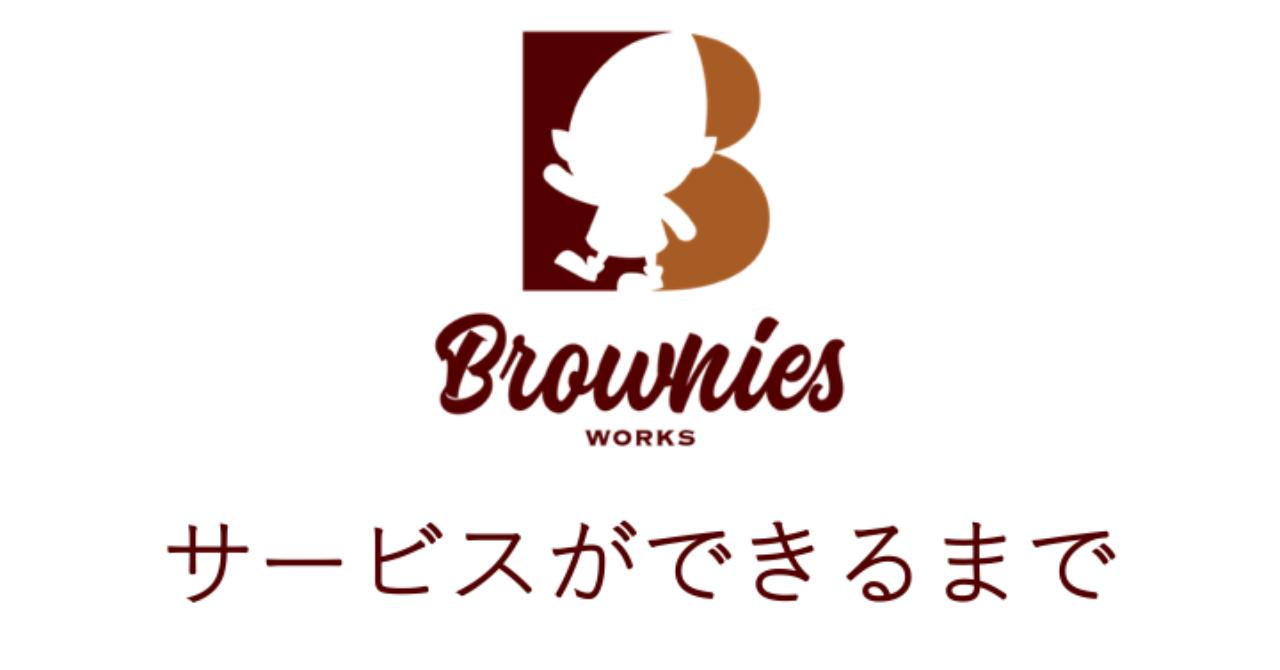 Brownies_Works表紙_サービスができるまで__20191201