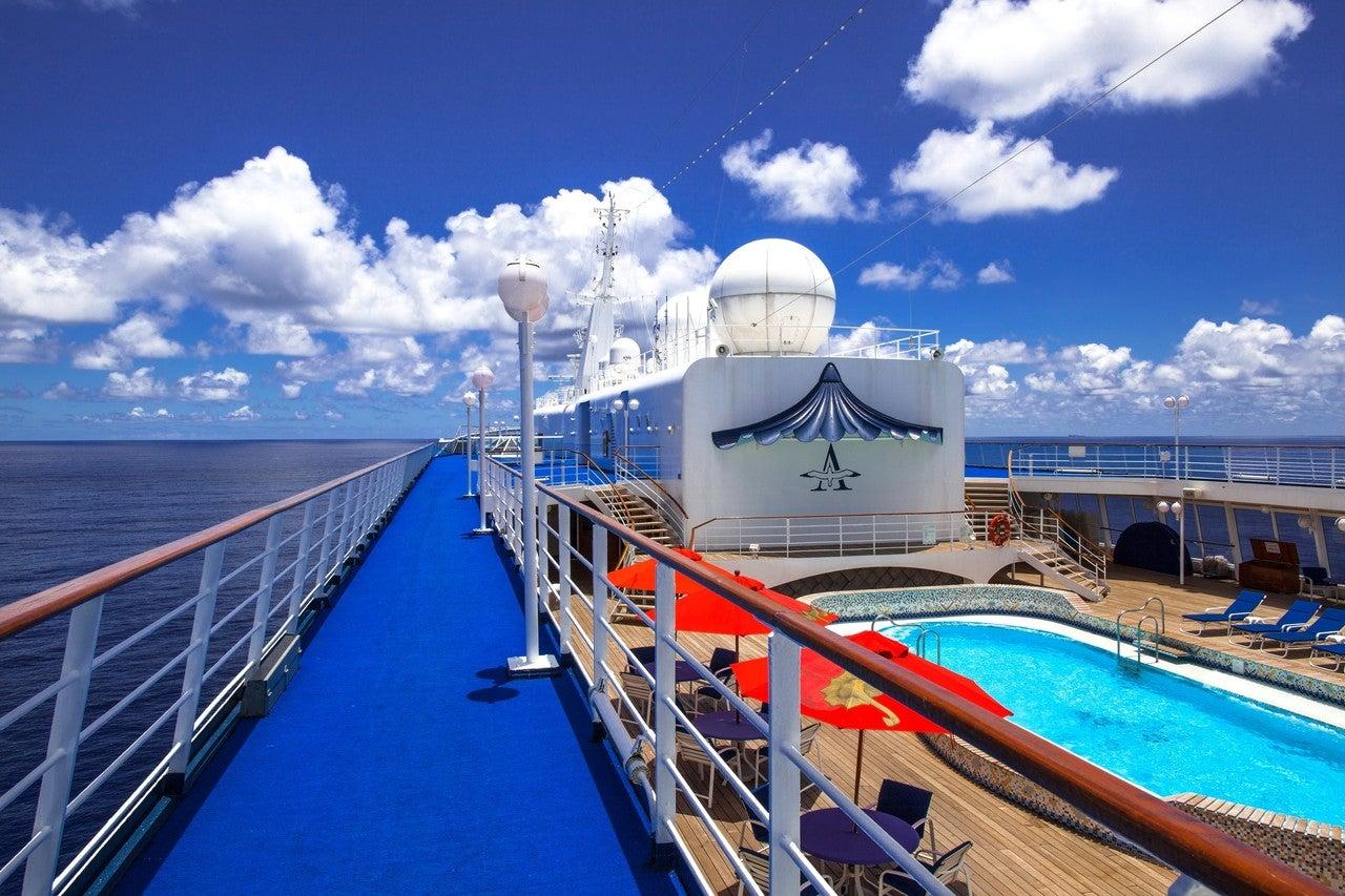 豪華 客船 世界 一周