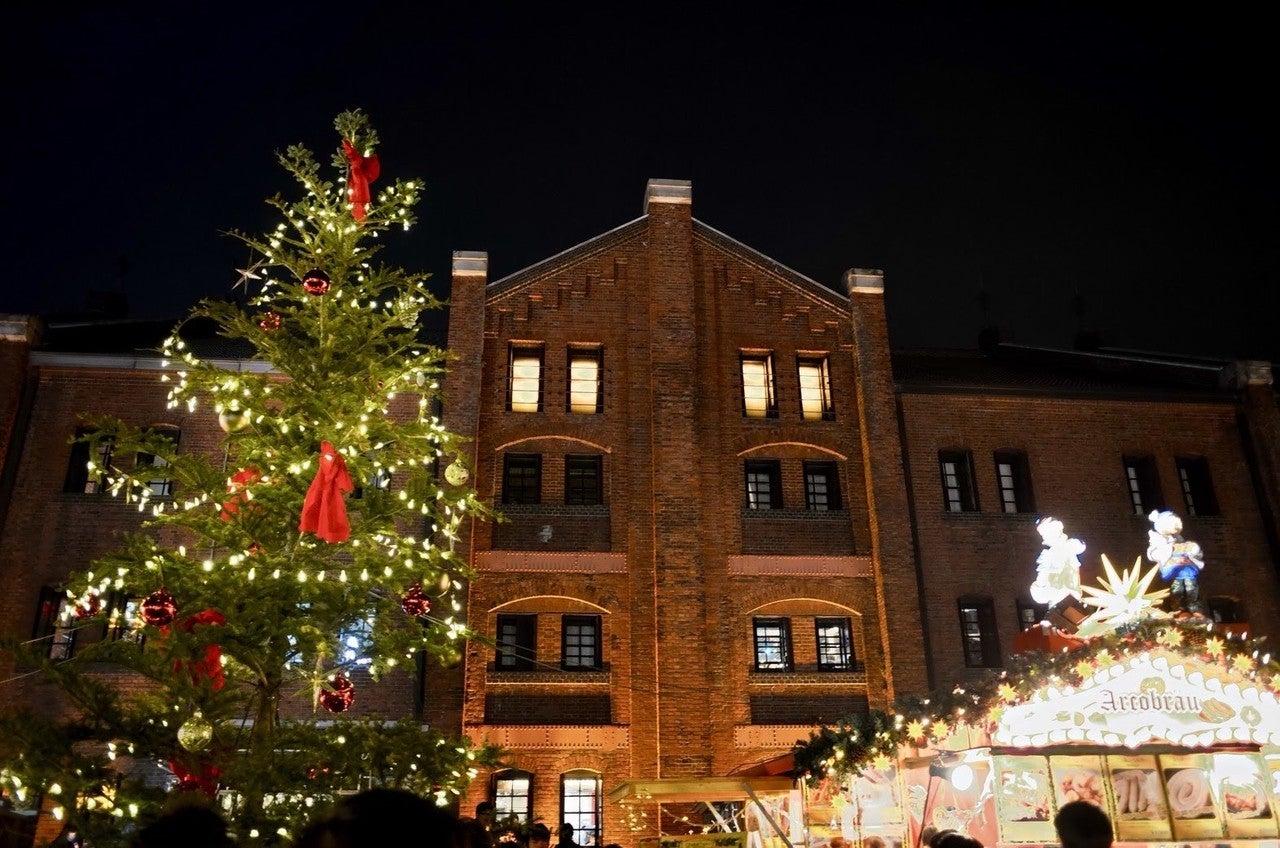 倉庫 クリスマス マーケット 赤レンガ