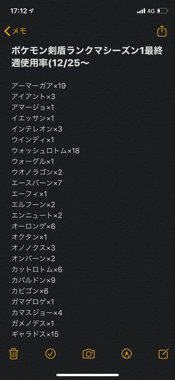 ランクマ ポケモン 剣 使用 率 盾