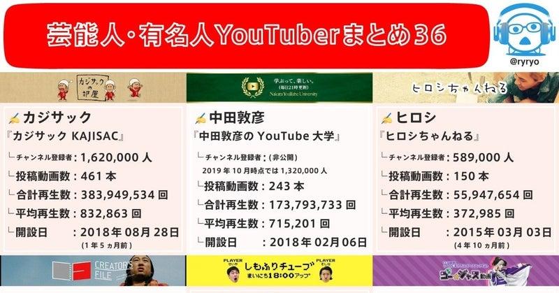 バー 芸能人 ユーチュー タレントYouTubeチャンネル登録数&再生率ランキング 1位は米津:日経クロストレンド