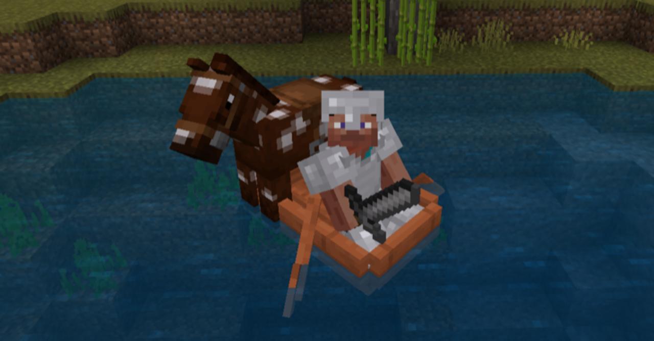 馬 方法 マイクラ に 乗る
