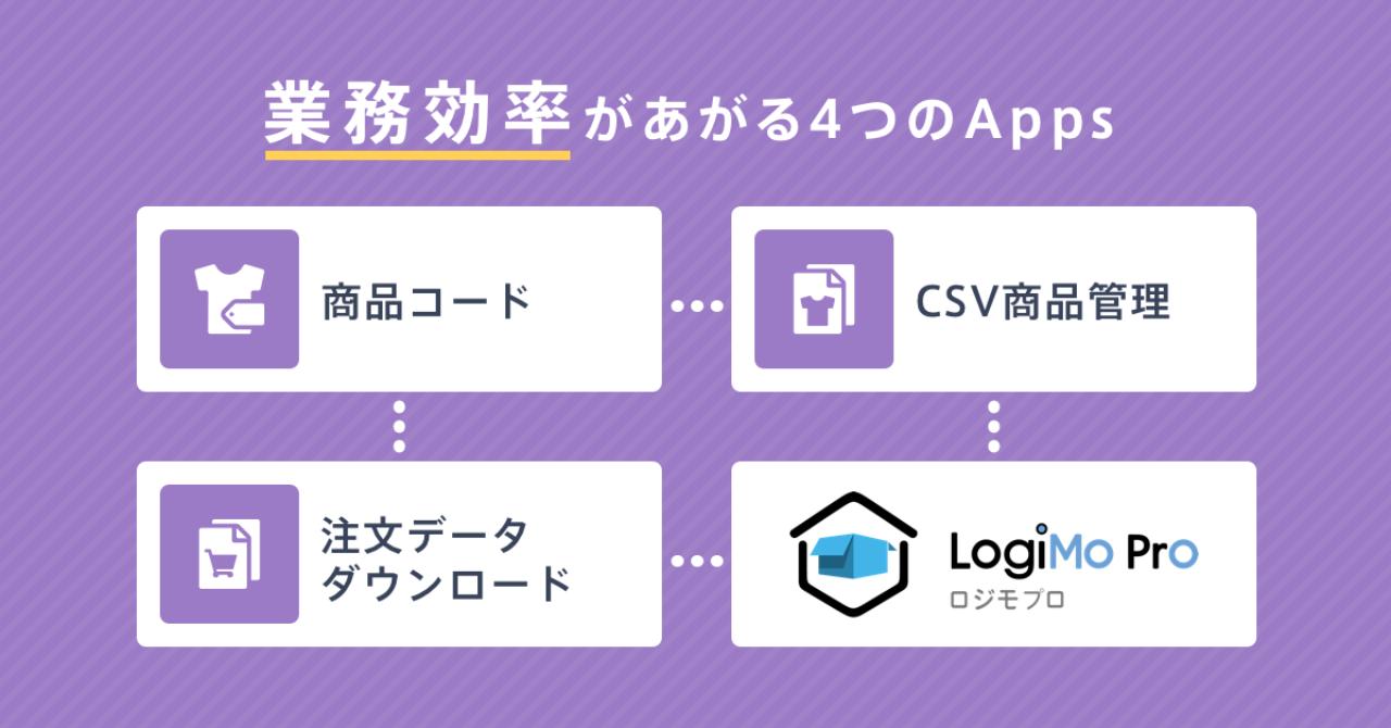 _プレスリリース_LogiMoProと商品コードAppなどリリース