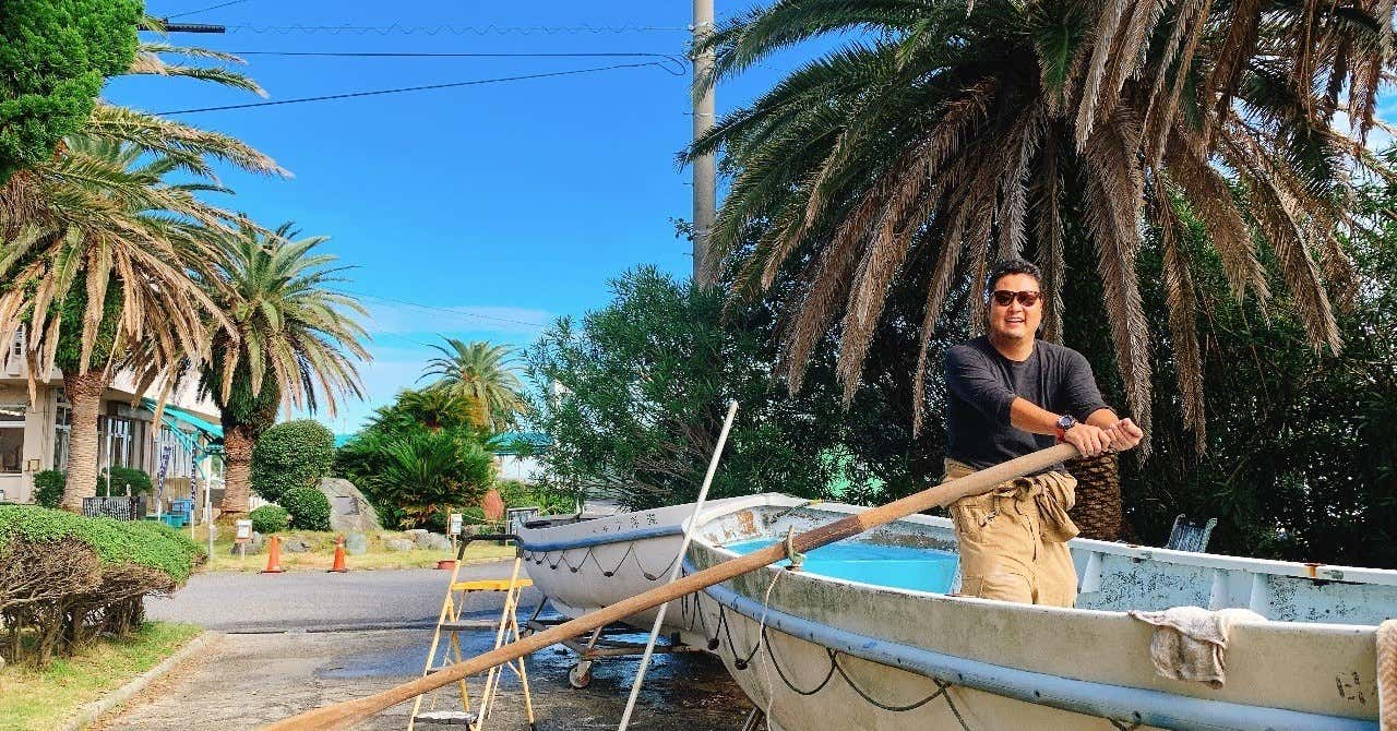 DIY無人島航海計画
