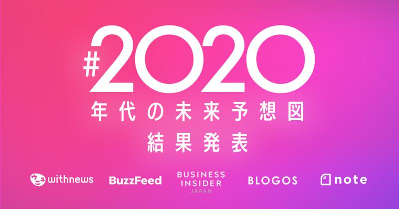2020年代の未来予想図_結果発表