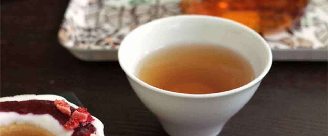 中国茶とスイーツのマリアージュ♪