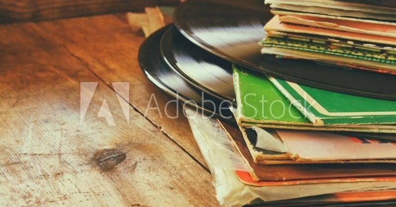 AdobeStock_93743837_Previewレコード
