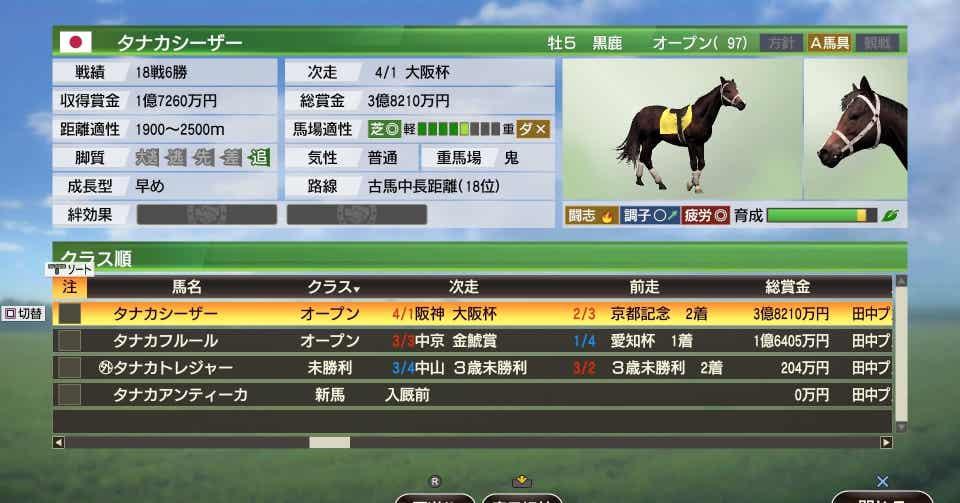 ウイニングポスト 9 おすすめ 繁殖 牝馬