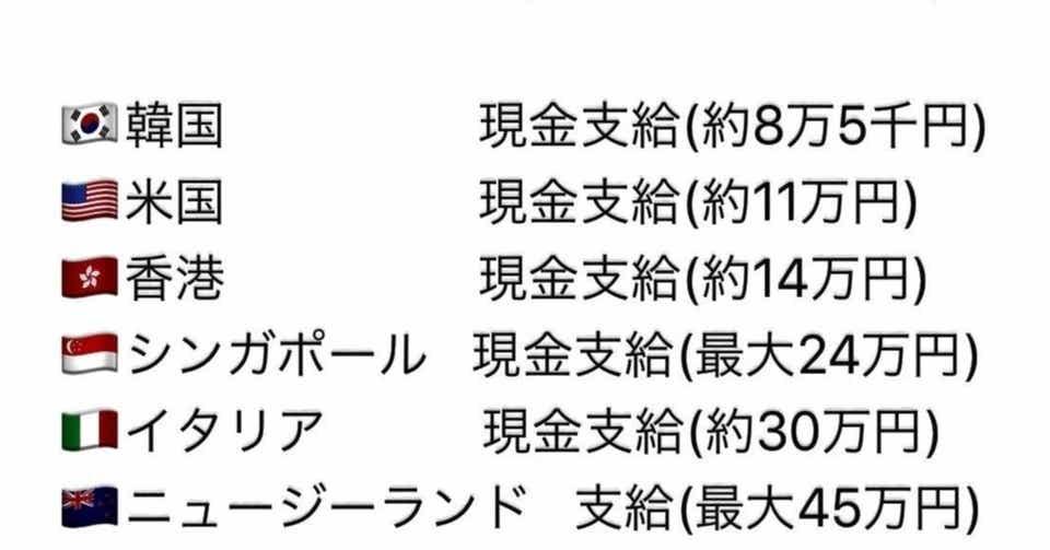 現金 30 万 円 給付