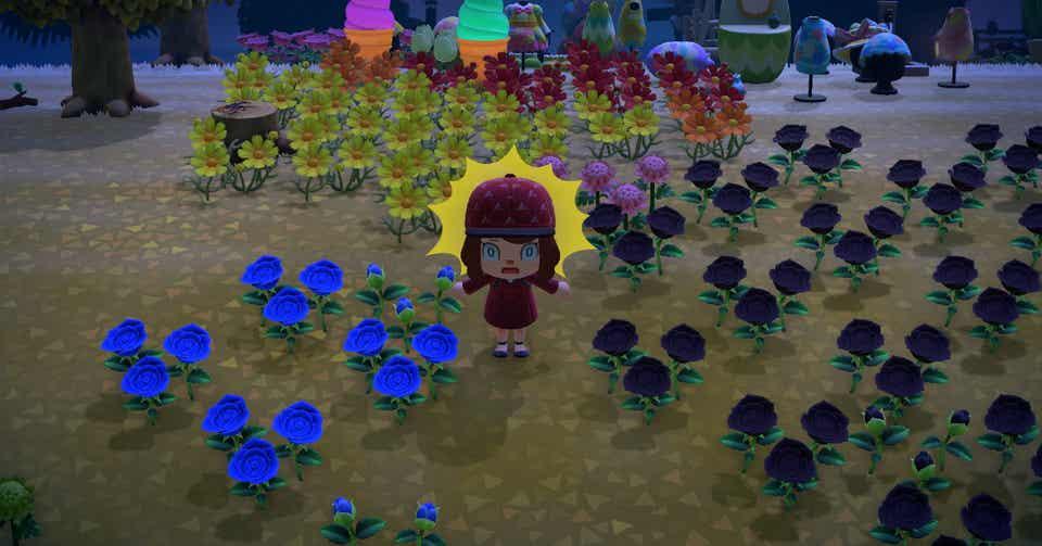 あつまれ どうぶつ の 森 青 バラ