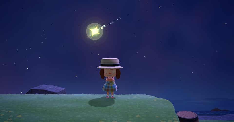 星に願う あつ森