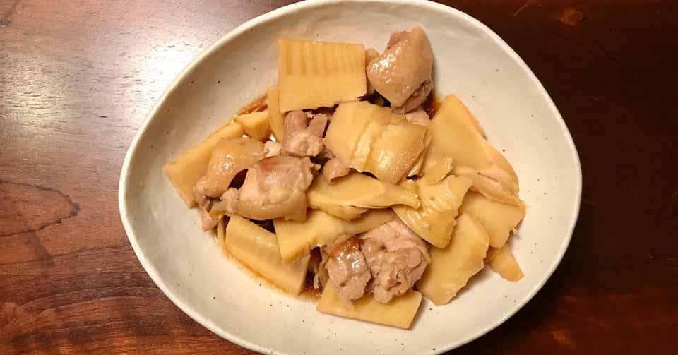 鶏肉 たけのこ 煮物