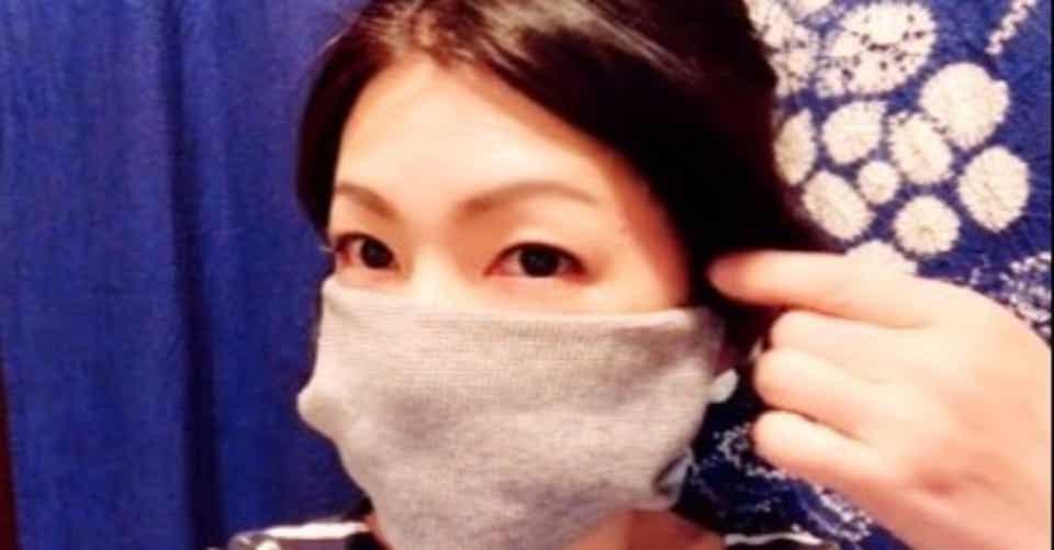 靴下 で マスク を 作る 方法