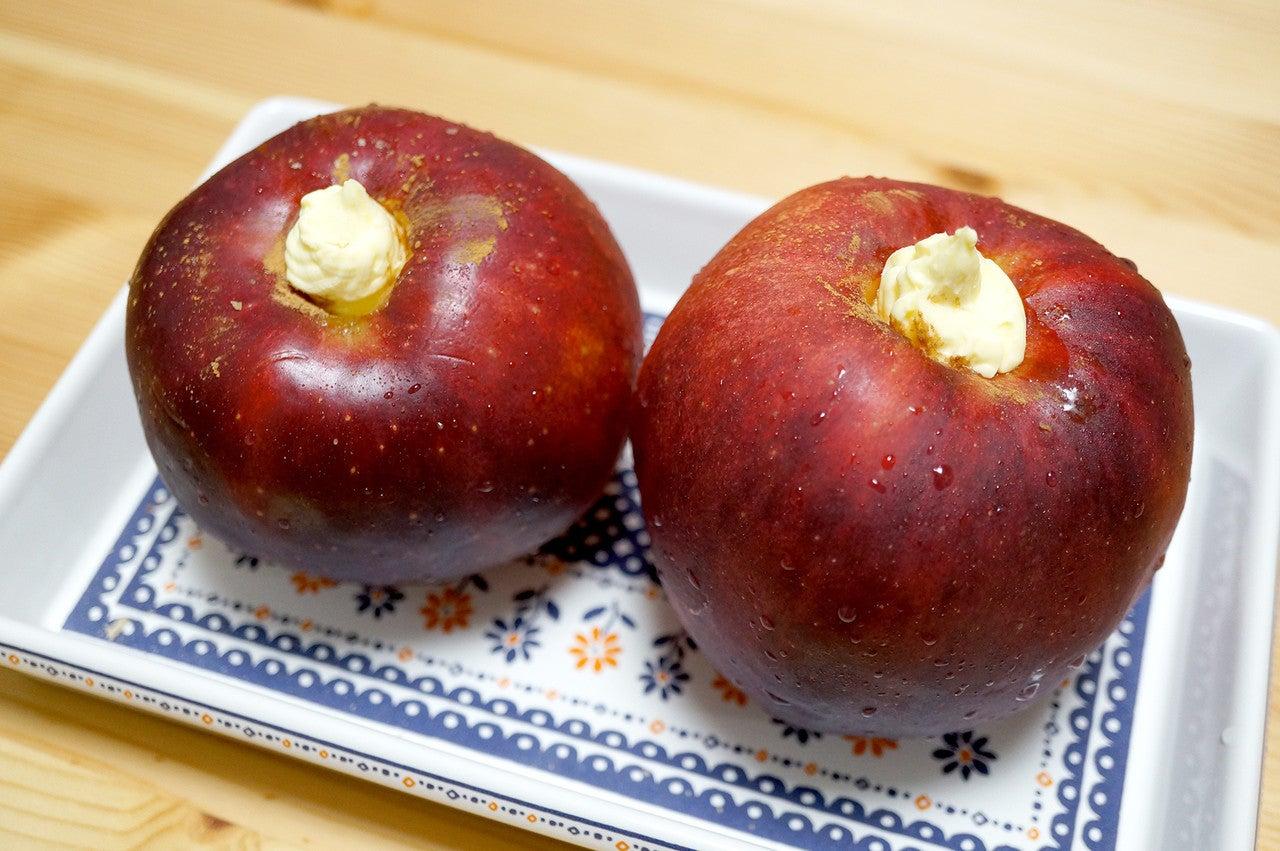 オーブン 焼き りんご