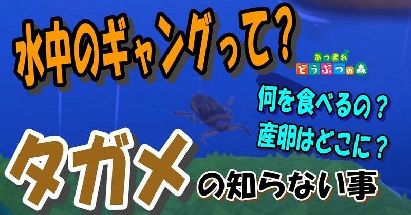 森 タガメ あつ