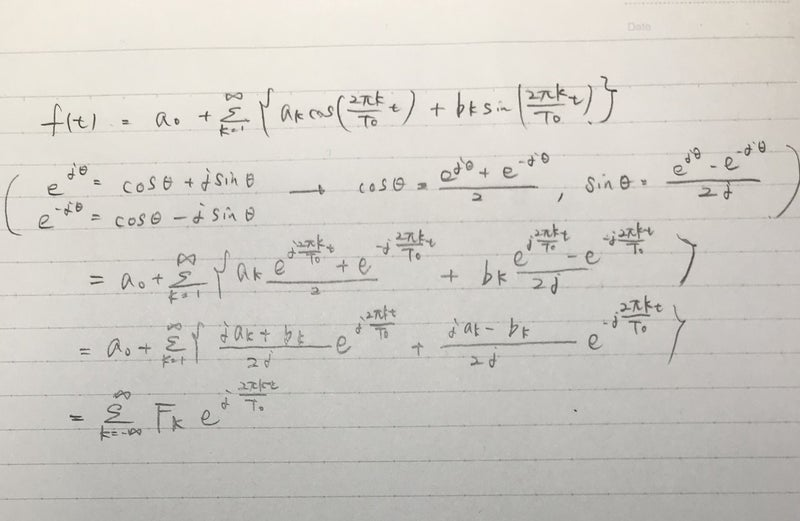 フーリエ 級数 複素 【フーリエ解析02】複素フーリエ級数とは?フーリエ級数が理解できていれば簡単!【解説動画付き】