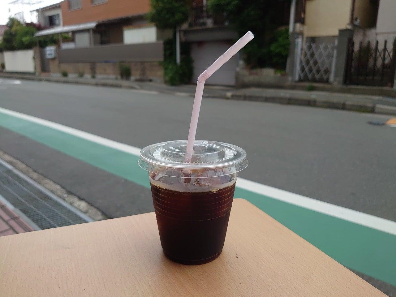 アイスコーヒーっていうのはキラキラに明るいときに撮っても映えないんやで
