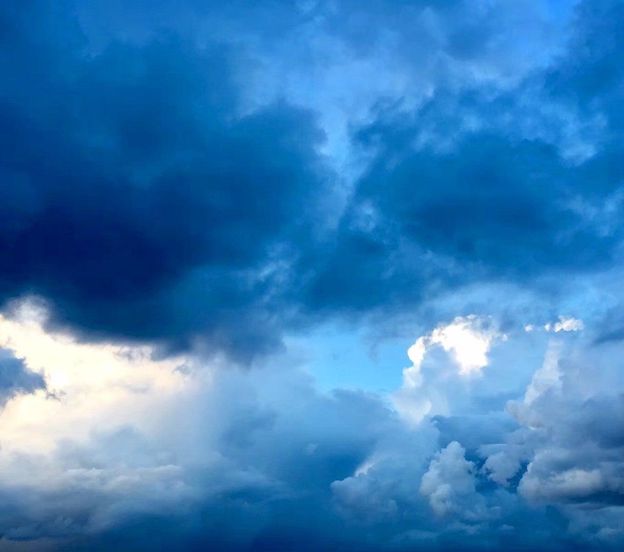 空 の よう に 晴れ渡る