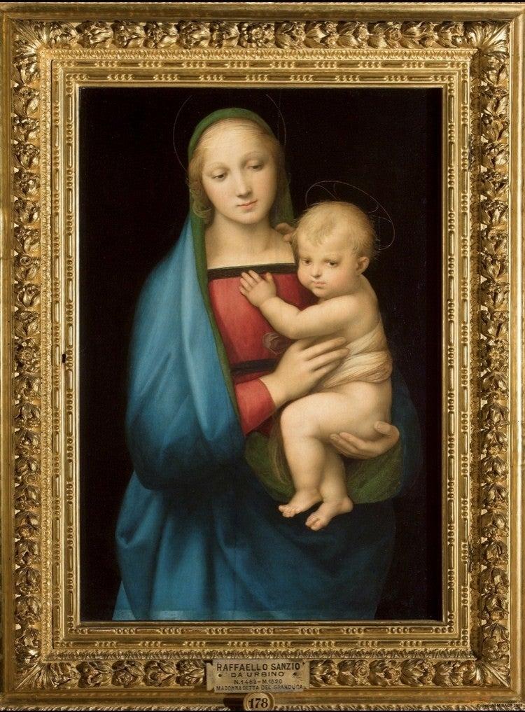 子 像 聖母 ラファエロ