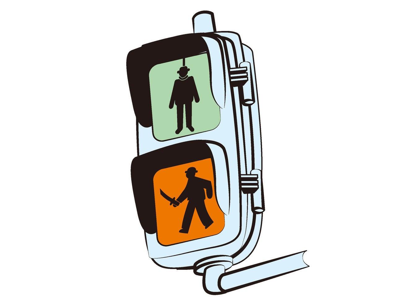 イヤな歩行者信号
