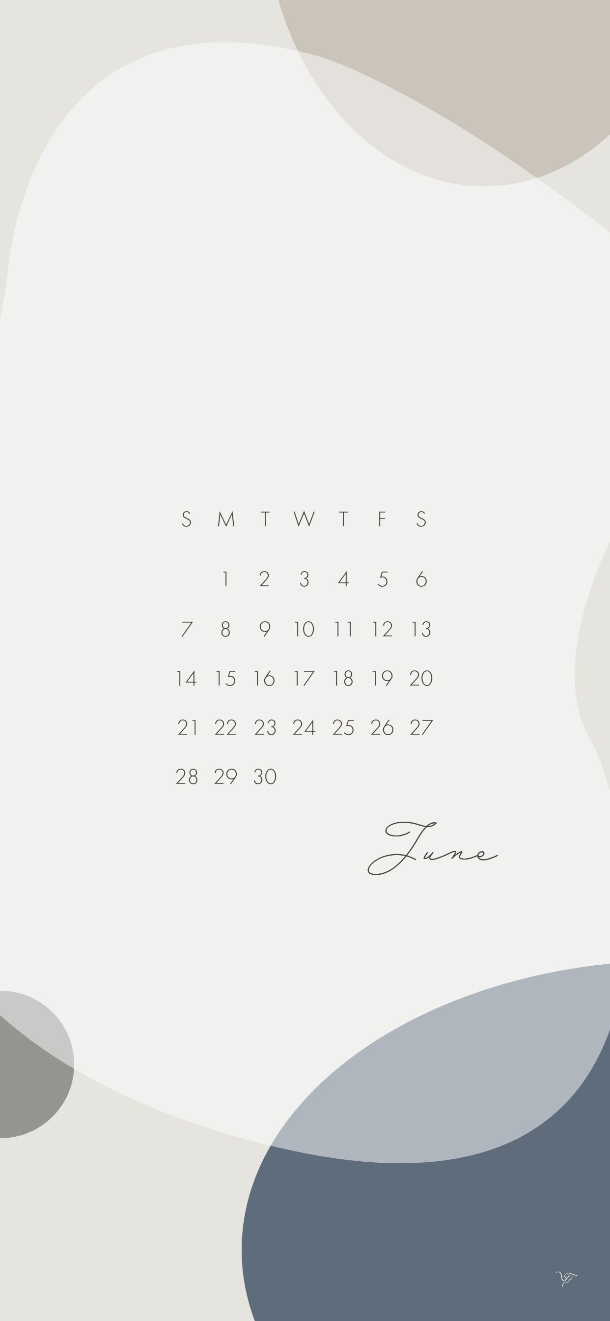Free June Calendar Wallpaper For The Iphone 𝗬 𝗙 Note