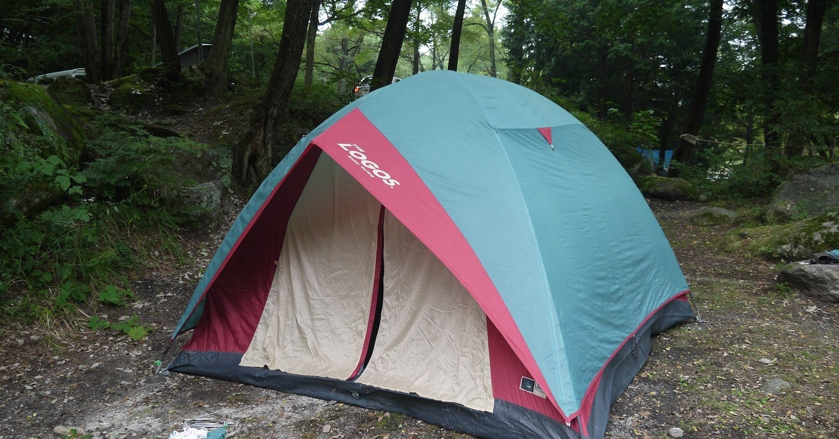 キャンプサイト 最後に来た住人
