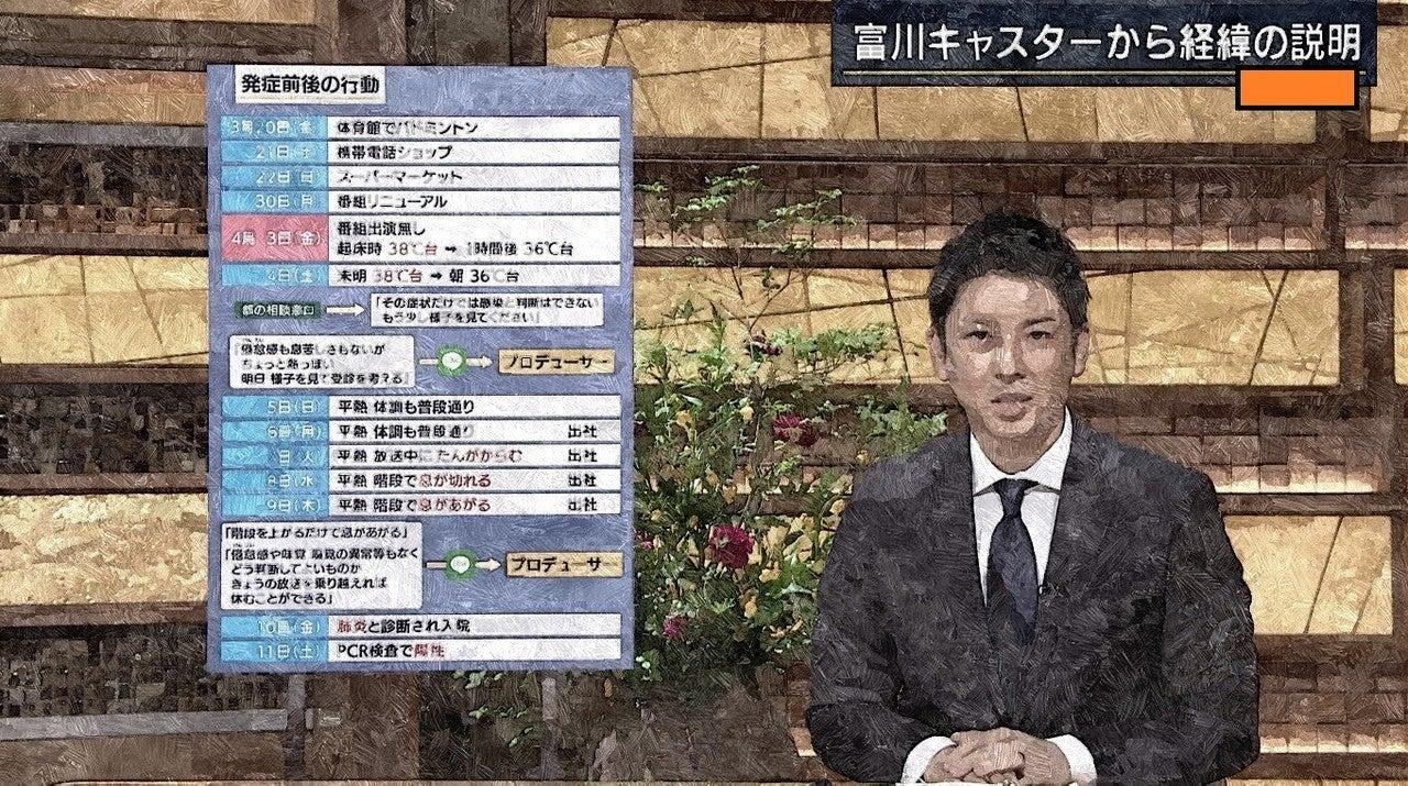 富川 アナ 報道 ステーション