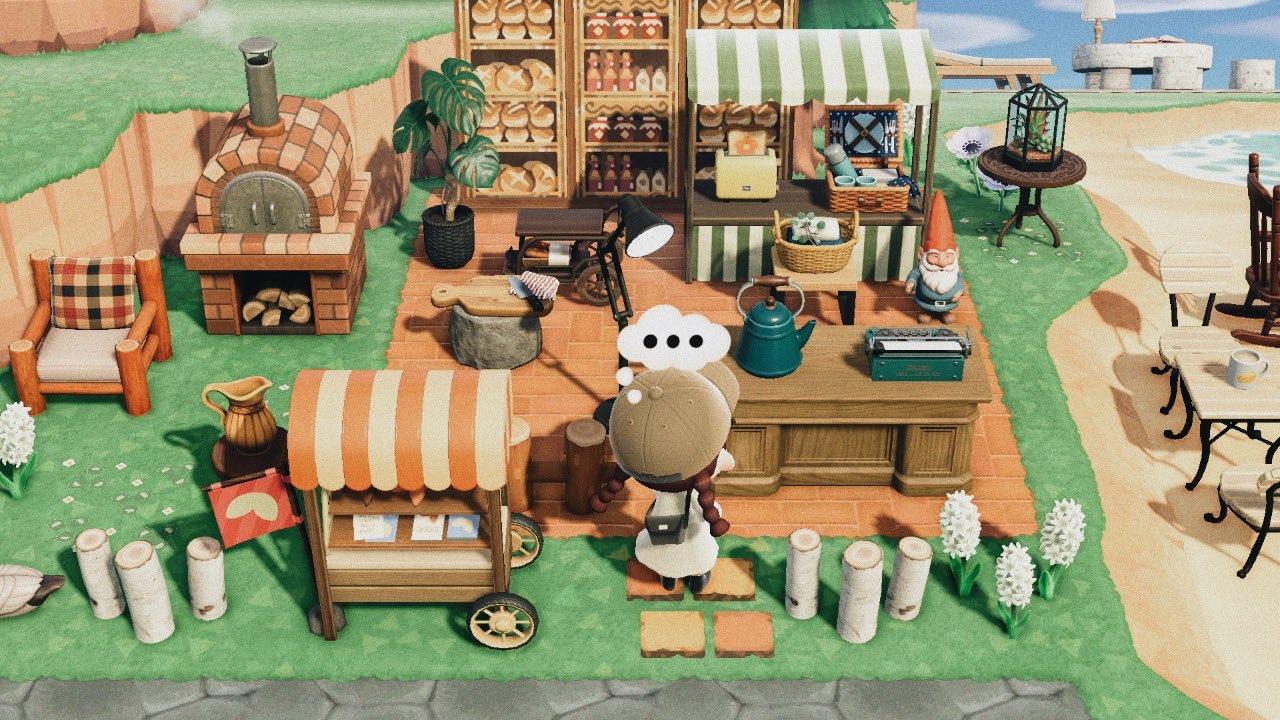 あつ森 パン屋
