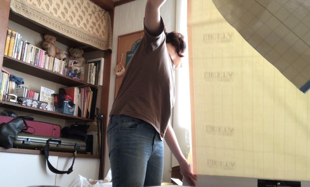 壁紙張り替え2日目 Ryoviolin Note