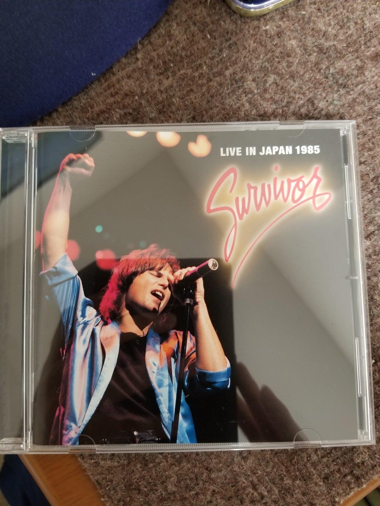 Survivor Live In Japan 1985を今更聞いて感想を書く|Requin/Kino|note