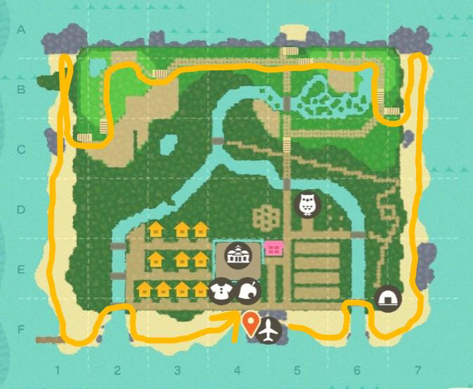 配置 あつ 森 建物 【あつ森】島レイアウトのおすすめ一覧