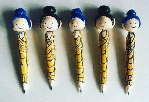 旧ほとけボールペン