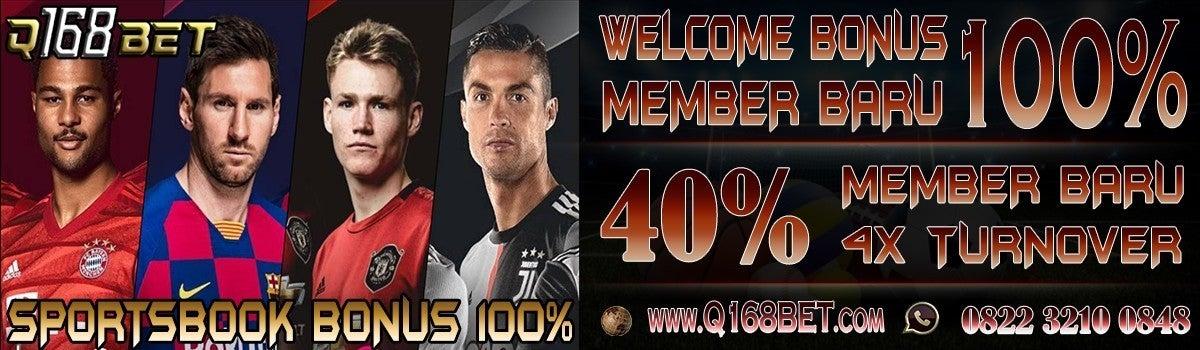 Q168bet Situs Judi Slot Online Bonus New Member 100 Q168bet Note