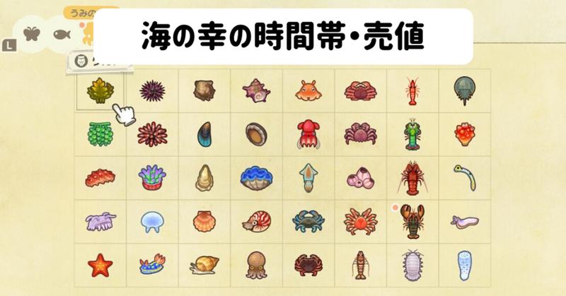 7 月 あつ森魚